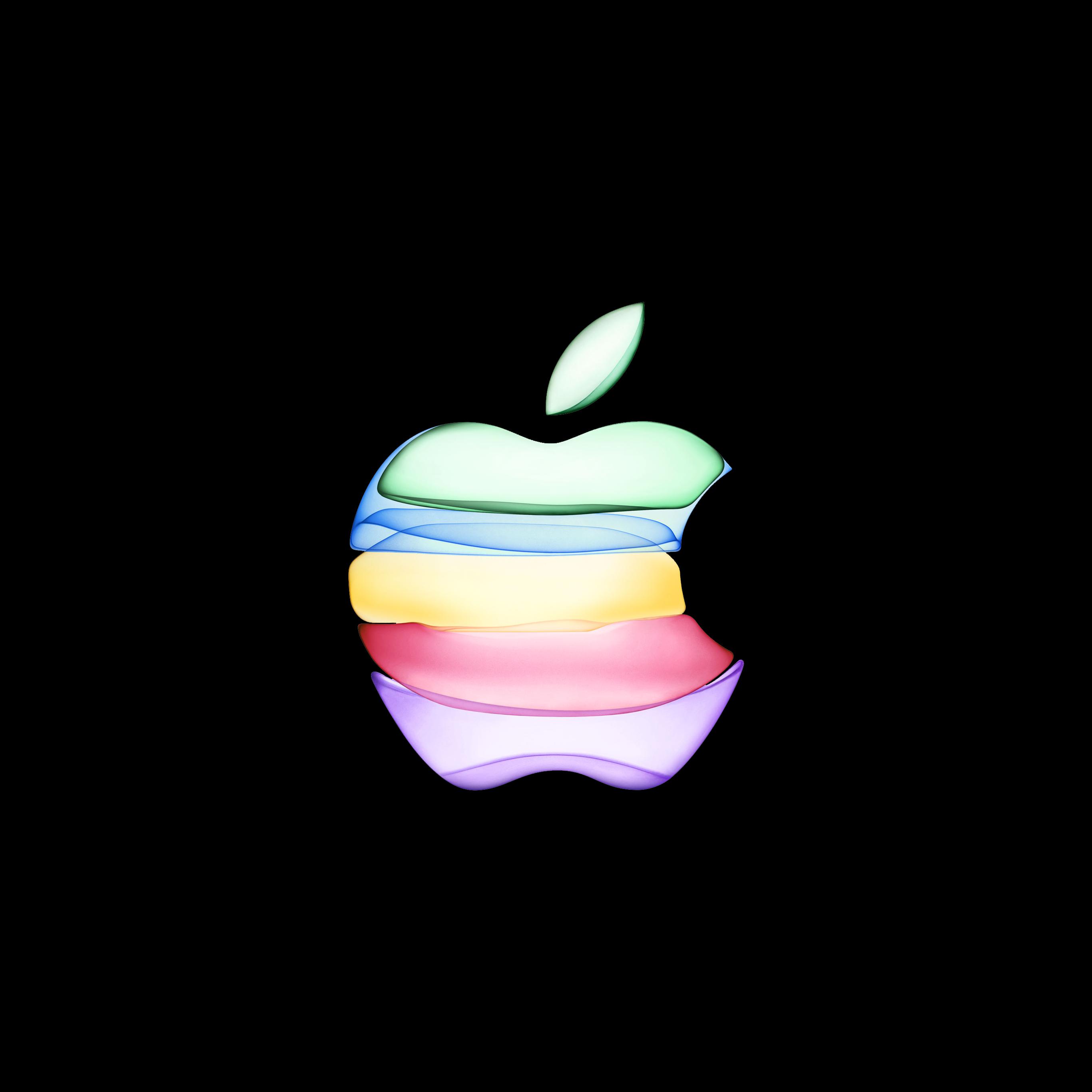Apple 新イベント対応壁紙が公開されていたのでダークモードにしてみた